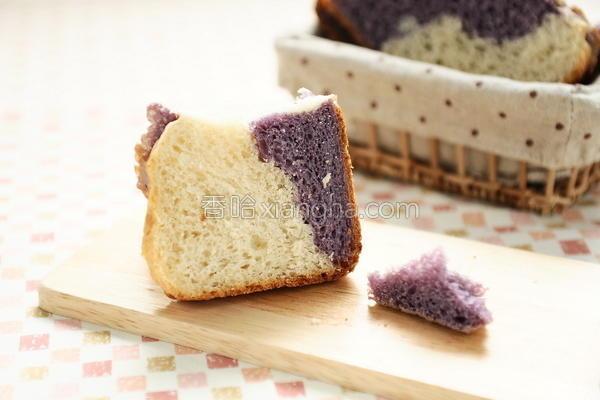 面包机双色吐司的做法