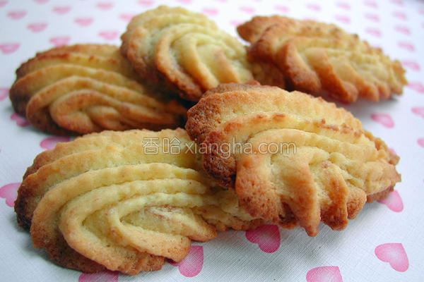 奶酥饼干的做法