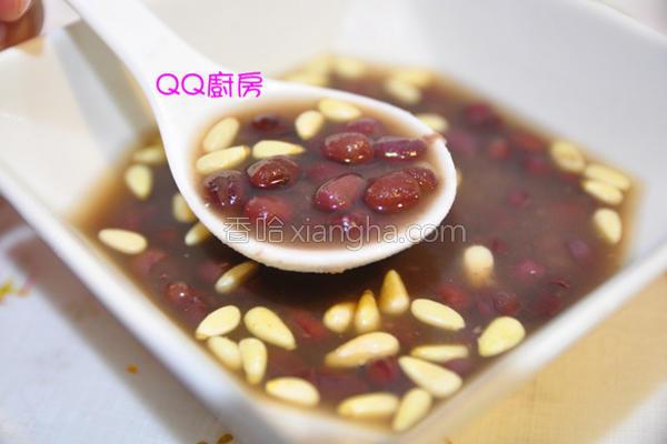 松子红豆汤的做法