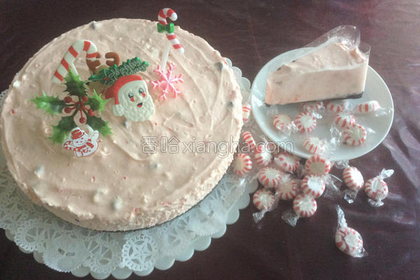 薄荷糖起司蛋糕的做法