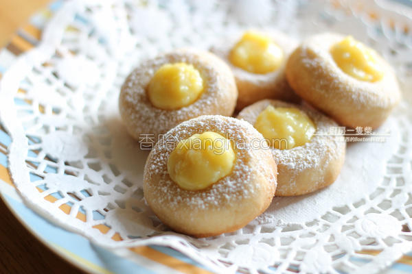 柠檬拇指饼干的做法
