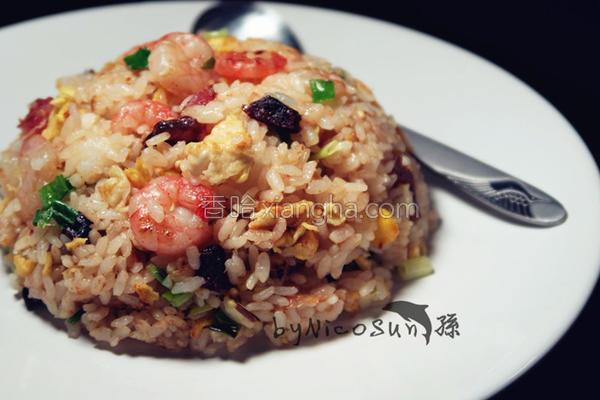 广州炒饭的做法