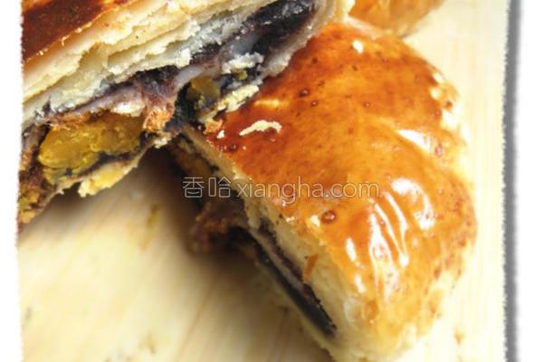 红豆麻糬饼的做法