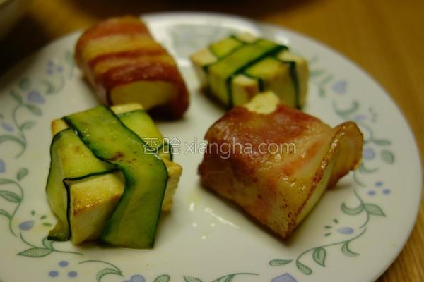 香煎培根豆腐的做法