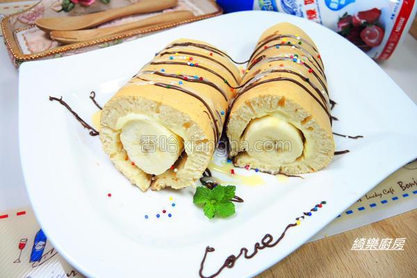 法式香蕉起司煎饼的做法