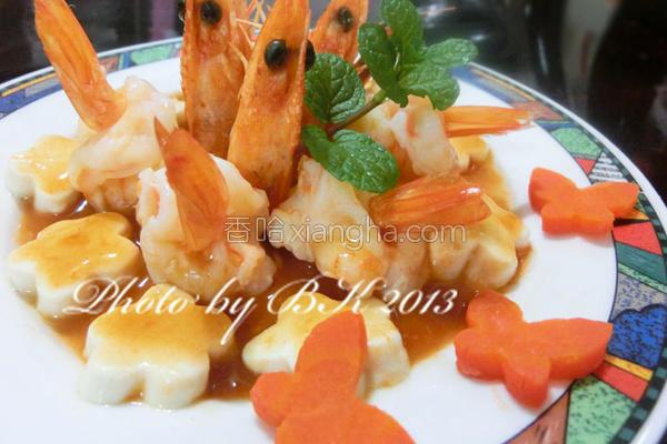 蝴蝶豆腐的做法