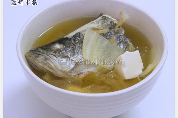 鲈鱼味噌汤的做法