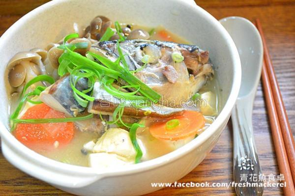 味噌鲭鱼汤的做法