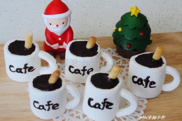 棉花糖咖啡杯的做法