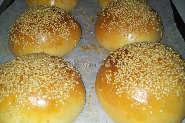 汤种汉堡面包的做法