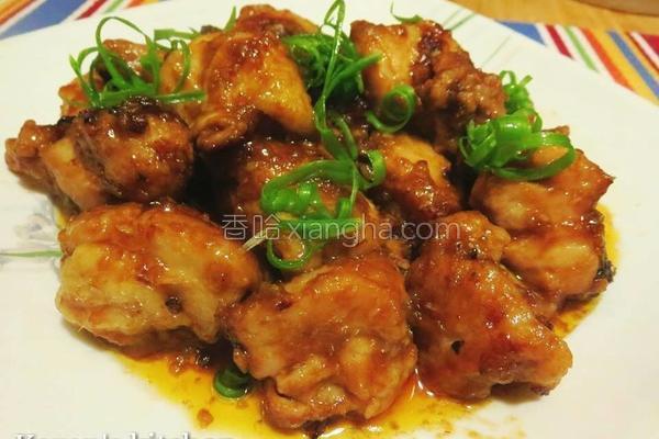豆酱焖鸡的做法