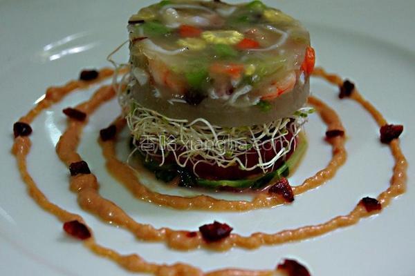 法式海鲜蔬果冻的做法