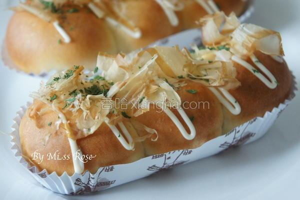 鲔鱼小丸子面包的做法