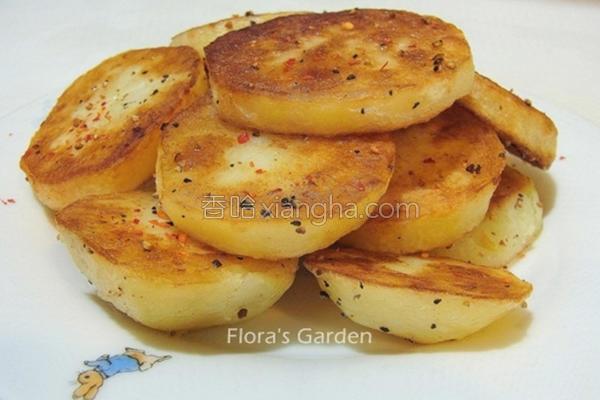 香煎马铃薯的做法