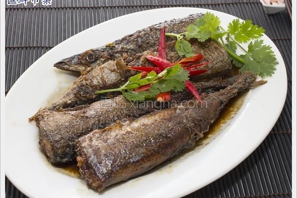 五香燻秋刀鱼的做法