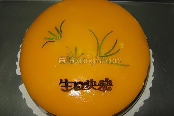 鲜芒慕斯蛋糕的做法