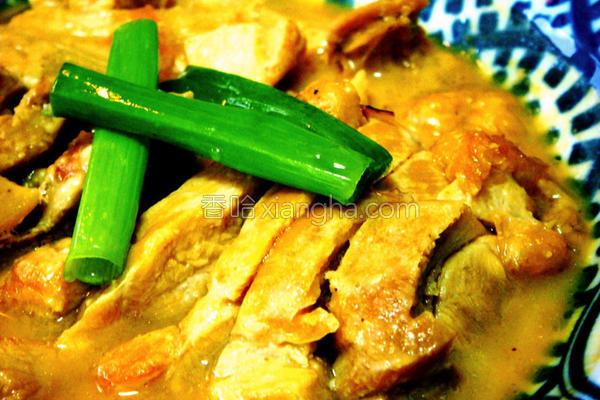 豆酱烧鸡的做法