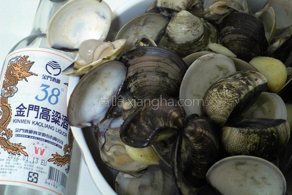 麻油高梁酒炒蛤蜊的做法