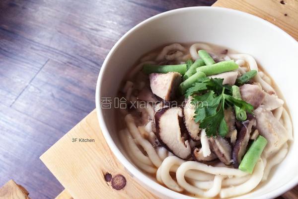 芋头香菇米苔目的做法