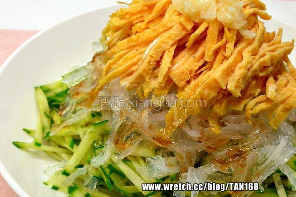 ♠洋菜三丝沙拉♠的做法