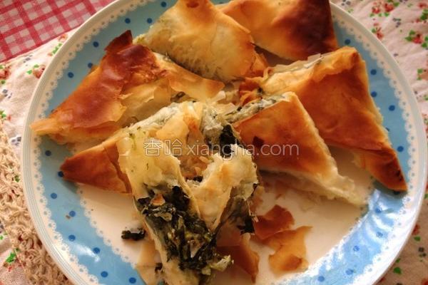 希腊菠菜饼的做法