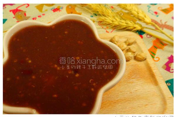 雪莲小米红豆粥的做法