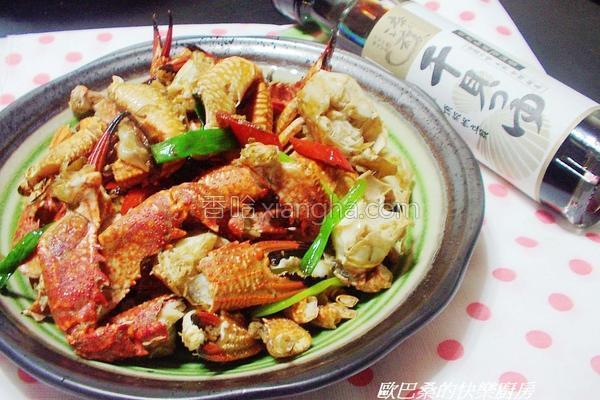 三宝炒螃蟹的做法