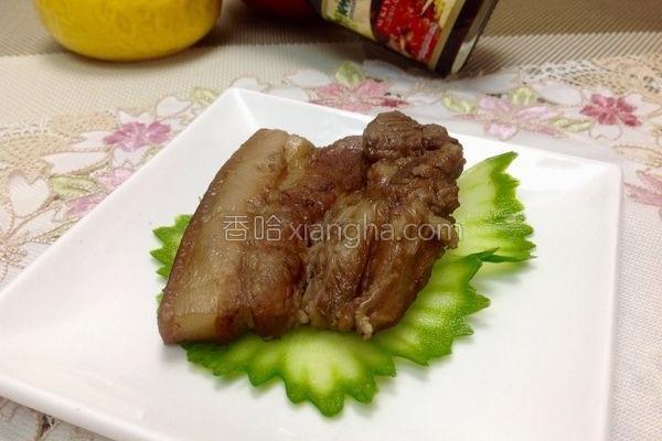 姜烧粟子焢肉的做法