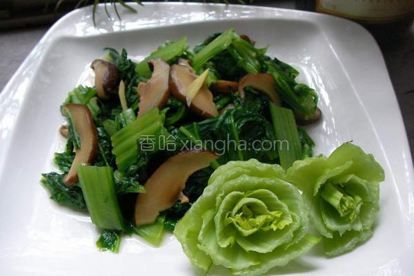 炒广岛菜的做法