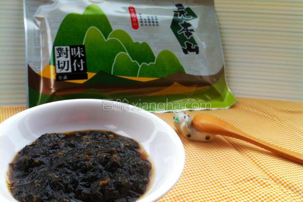 海苔香菇酱的做法