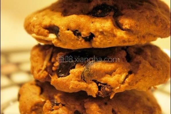 蜂蜜坚果果干饼干的做法