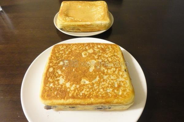 蜂蜜黑豆松饼的做法