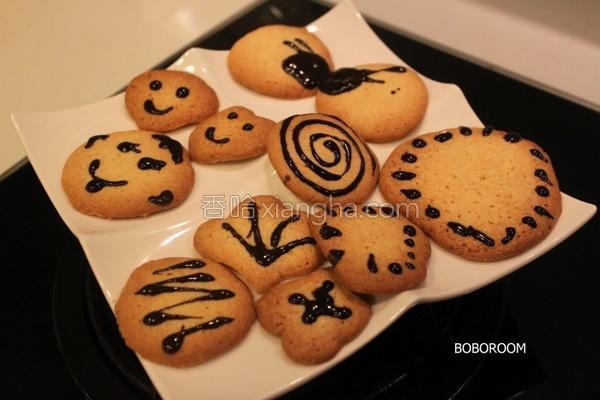 表情小饼干的做法