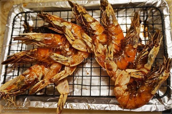香烤白虾的做法