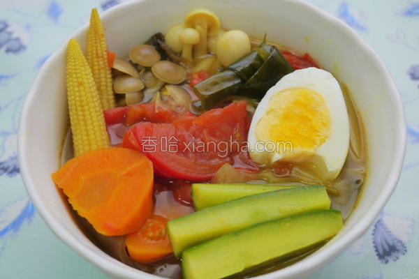 野菜汤咖哩的做法