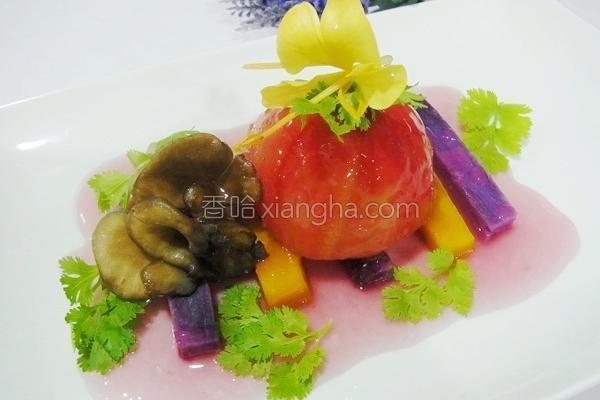 舞菇炖饭佐秋食的做法