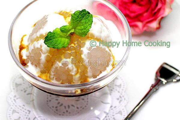 马六甲椰糖西米糕的做法