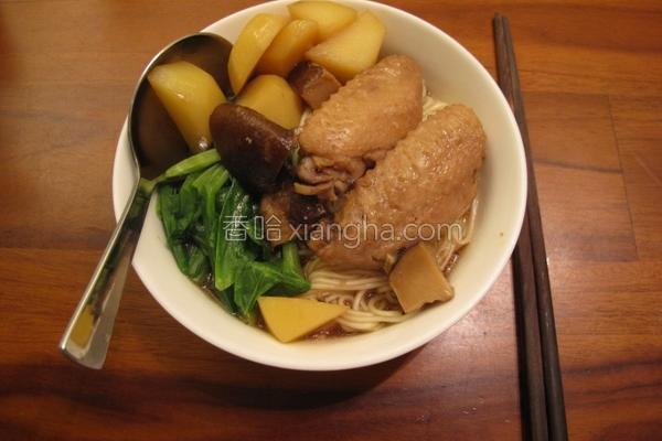鲜菇马铃薯鸡翅煮的做法
