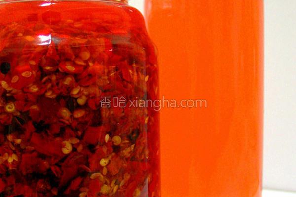 辣椒红油的做法