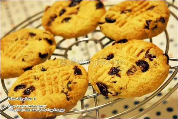 蔓越莓手工饼干的做法