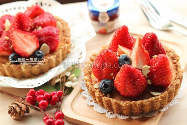 草莓柠檬杏仁塔的做法