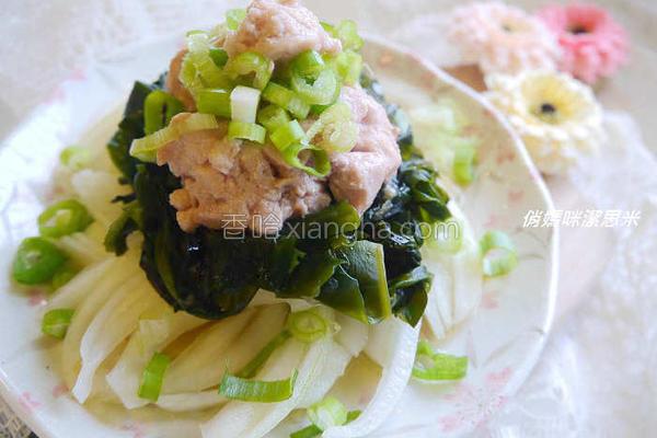 鳕鱼肝沙拉佐的做法