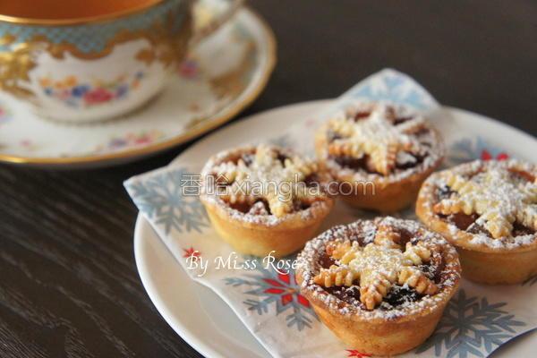 迷你圣诞果干馅饼的做法