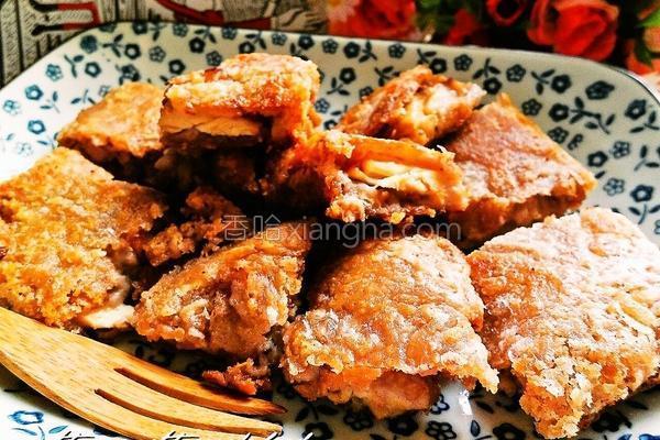 香酥芋泥鸡的做法