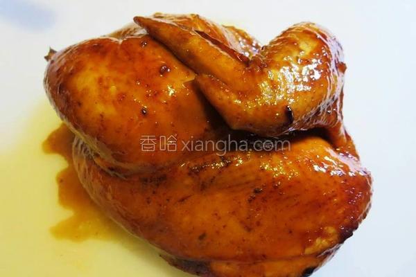 电饭煲豉油鸡的做法