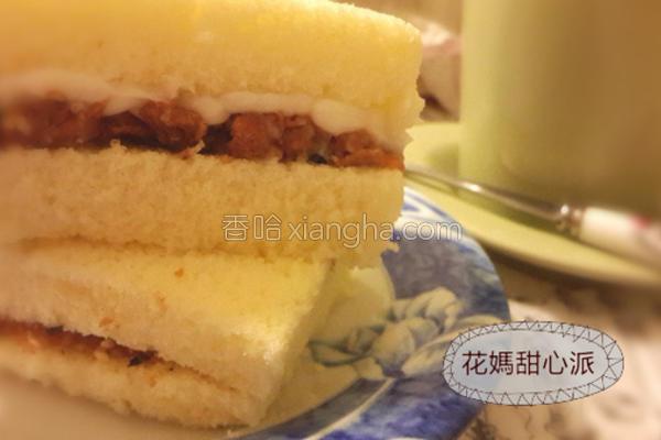 甘松咸蛋糕的做法