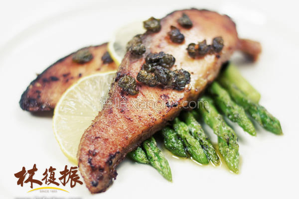 快速酸豆鲑鱼排的做法