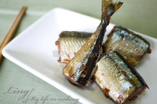 佃煮秋刀鱼的做法