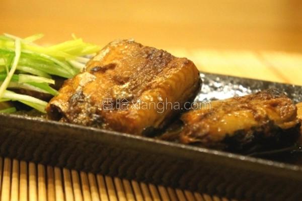 化骨酱烧秋刀鱼的做法