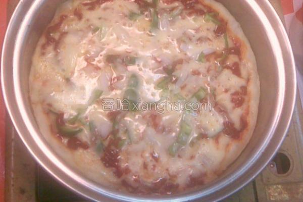平底锅Pizza的做法